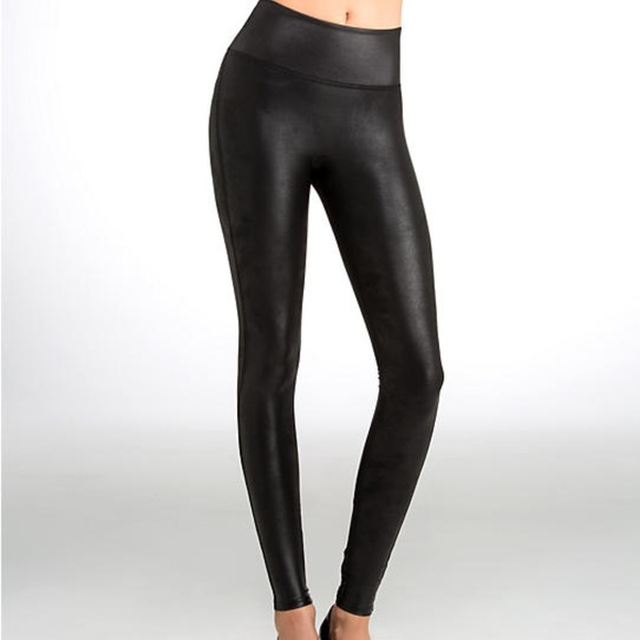 6f13ecd352c7a2 Spanx Ready to Wow Faux Leather Black Leggings Oil.  M_5ae0bdb03afbbddf8bc5828f